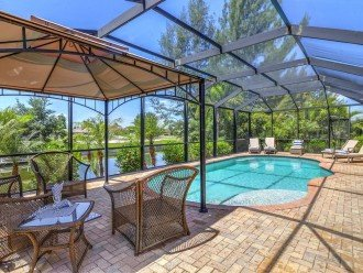 4 Bedroom and 2 Bathroom Home with heated Pool on Water SOUTH FACING #1