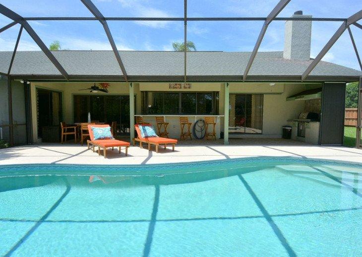Beautiful, heated pool home close to Stuart Beach and Jensen Beach. #3