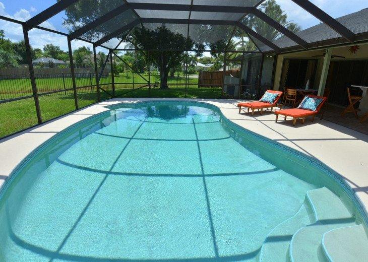 Beautiful, heated pool home close to Stuart Beach and Jensen Beach. #1