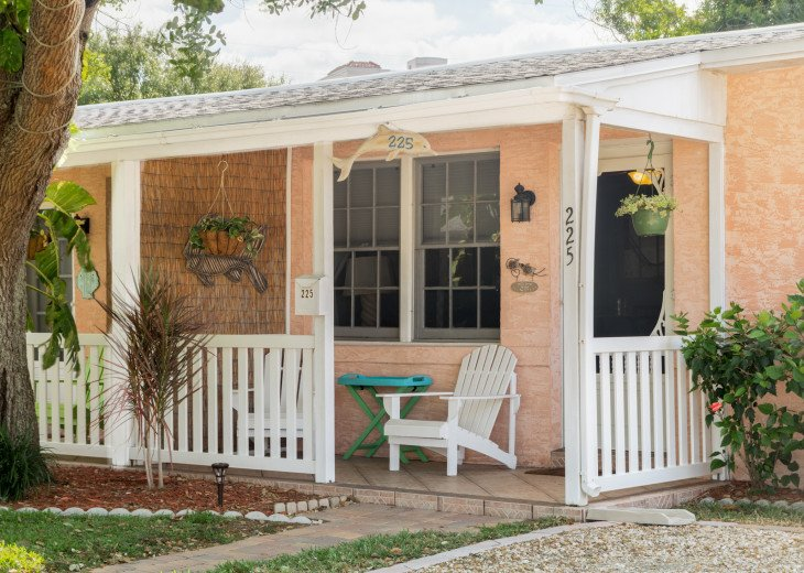 Cocoa Beach Stay Cottage 225 Pet Friendly - Walk to the beach! #1