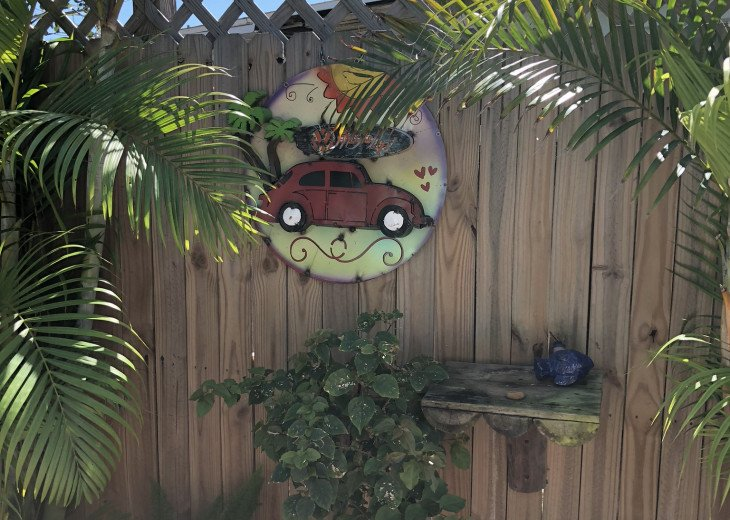 Cocoa Beach Stay Cottage 225 Pet Friendly - Walk to the beach! #9