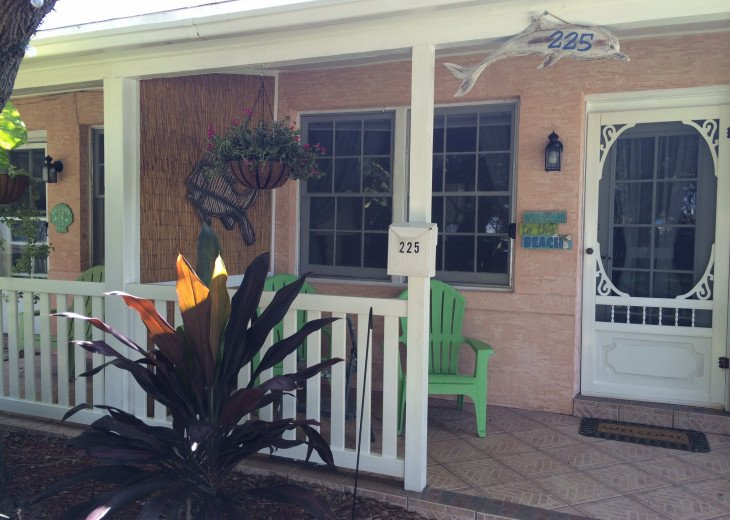 Cocoa Beach Stay Cottage 225 Pet Friendly - Walk to the beach! #2