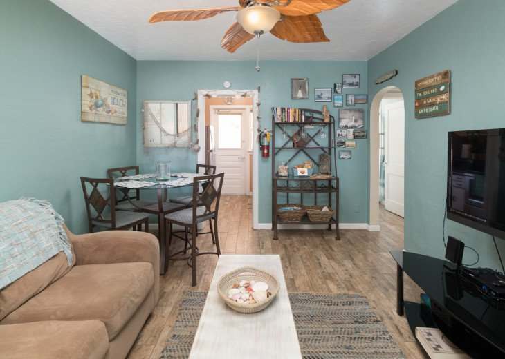 Cocoa Beach Stay Cottage 225 Pet Friendly - Walk to the beach! #23