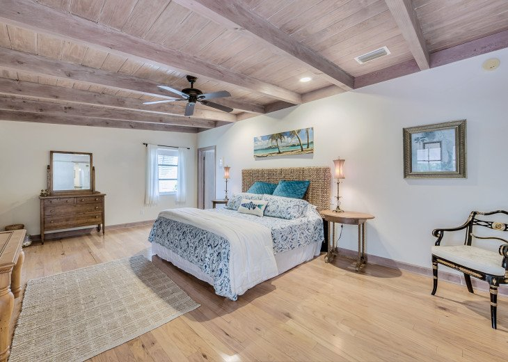 The Captains Quarters, aka The Master Bedroom