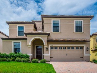 BRAND NEW, LUXURIOUS 9 Bed 5 Bath Champions Gate pool home with game room CG1308 #1
