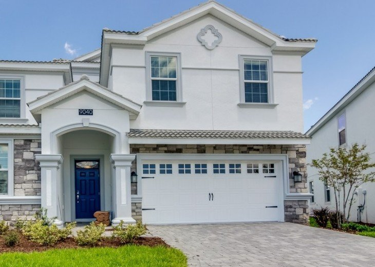 BRAND NEW GORGEOUS 8Bed 5Bath Champions Gate pool home w/gameroom CG9040STINGER #2