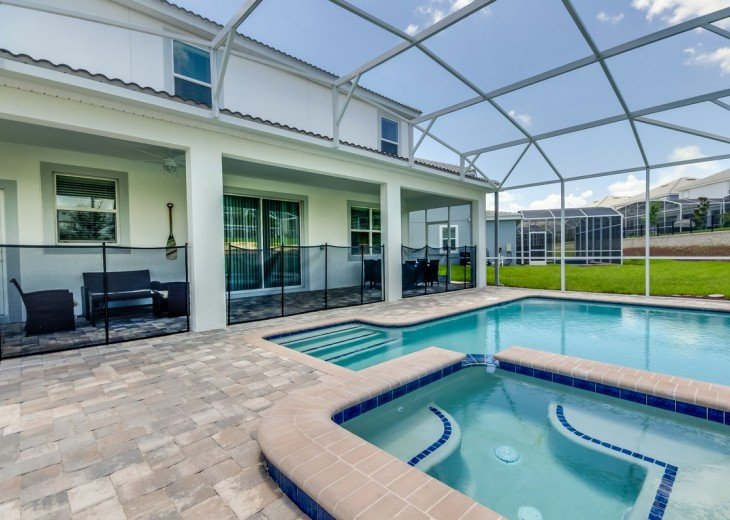 BRAND NEW GORGEOUS 8Bed 5Bath Champions Gate pool home w/gameroom CG9040STINGER #38