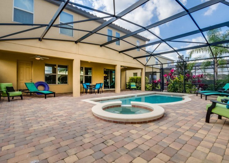 ELEGANT 7Bed (2King, 3Queen) 6Bath pool home w/game room Dales1214 #32