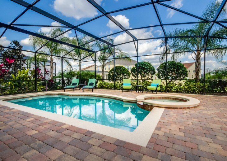 ELEGANT 7Bed (2King, 3Queen) 6Bath pool home w/game room Dales1214 #30