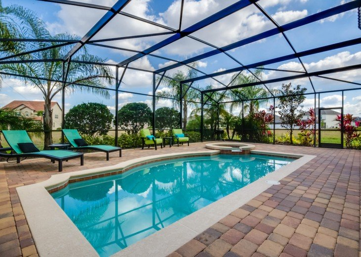 ELEGANT 7Bed (2King, 3Queen) 6Bath pool home w/game room Dales1214 #29
