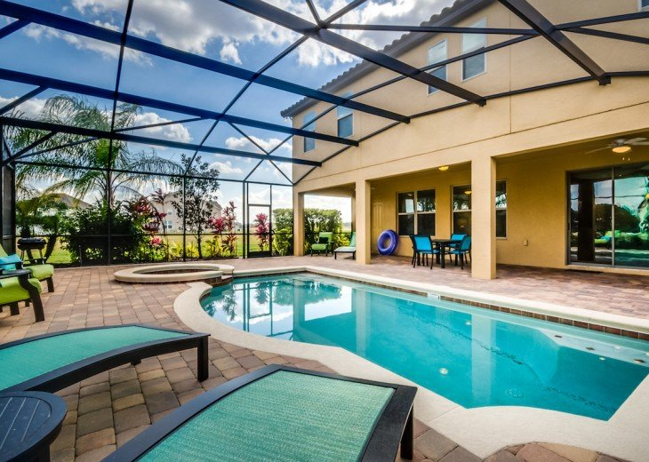 ELEGANT 7Bed (2King, 3Queen) 6Bath pool home w/game room Dales1214 #31