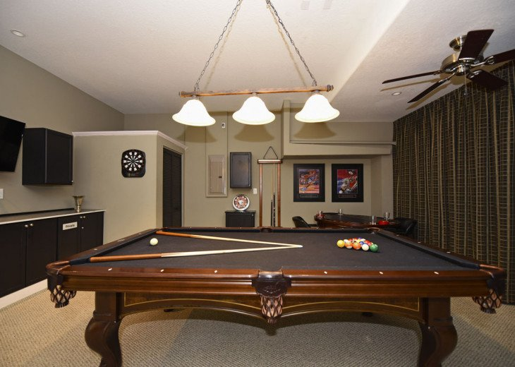 BEAUTIFUL 7BR 6bath Champions Gate pool home w/game and media rooms- CG9117 #23
