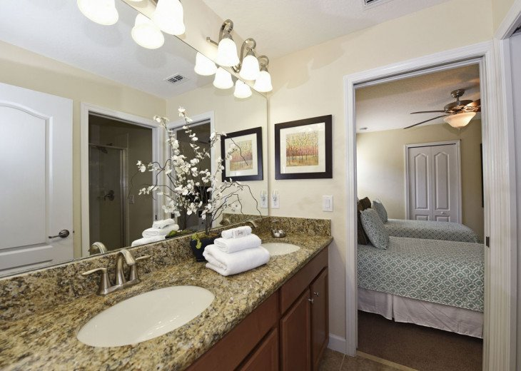 BEAUTIFUL 7BR 6bath Champions Gate pool home w/game and media rooms- CG9117 #15