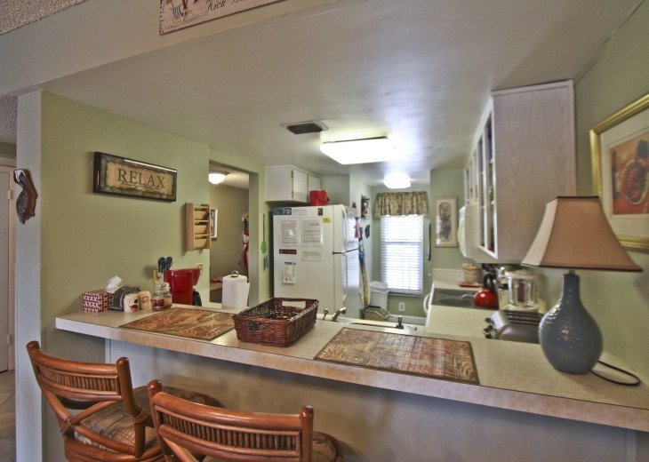 #309 Tropical Suite 2BD/2BA family friendly condo in non-driving beach zone #17