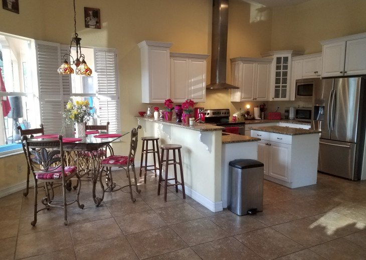 Beautiful Private Gated Estate With Custom Pool, Close to Beach and Shops #4