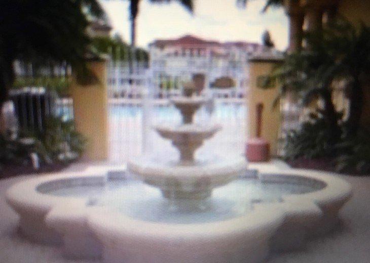 Pool entrance