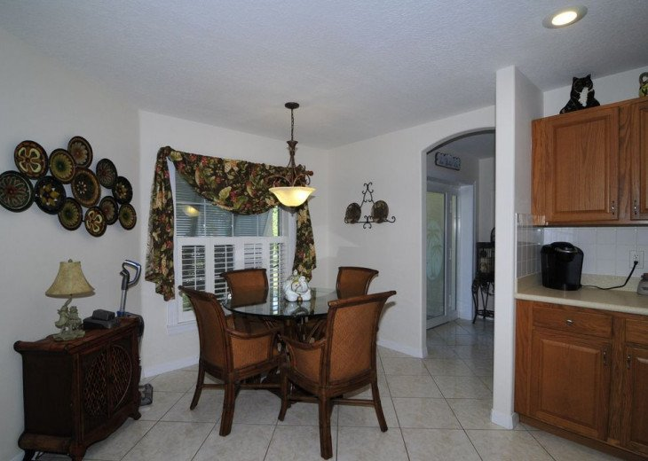 Melbourne Beach bungalow-Four bedroom with heated pool two blocks from beach #8