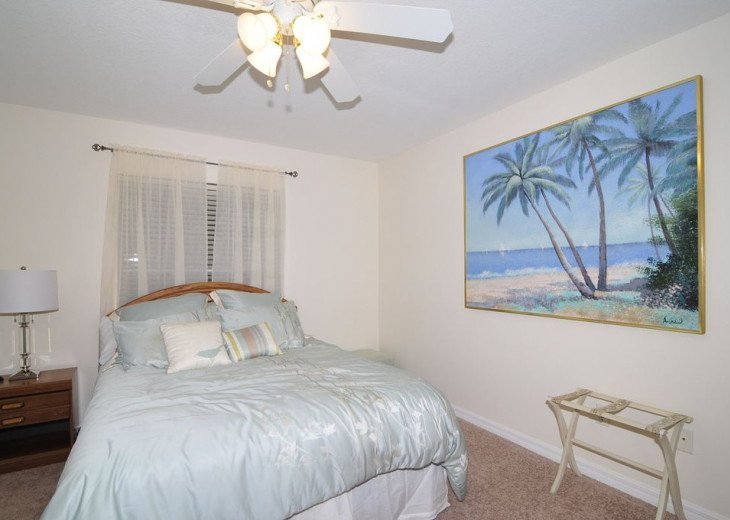 Melbourne Beach bungalow-Four bedroom with heated pool two blocks from beach #13