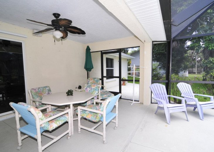 Melbourne Beach bungalow-Four bedroom with heated pool two blocks from beach #19