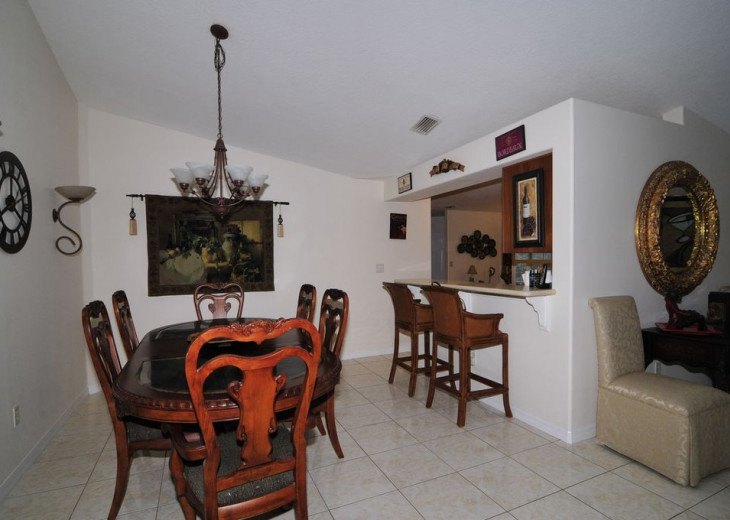 Melbourne Beach bungalow-Four bedroom with heated pool two blocks from beach #4