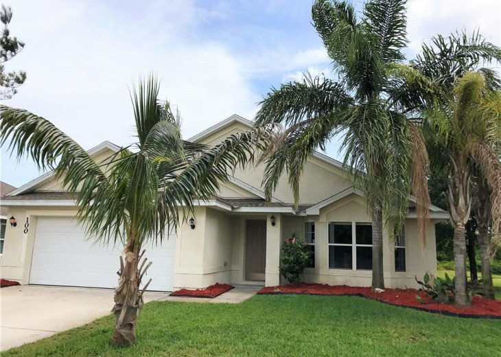 Nice private residence in a gated community with pool and recreation building #1