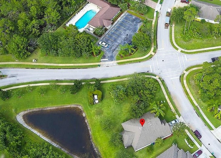 Nice private residence in a gated community with pool and recreation building #2