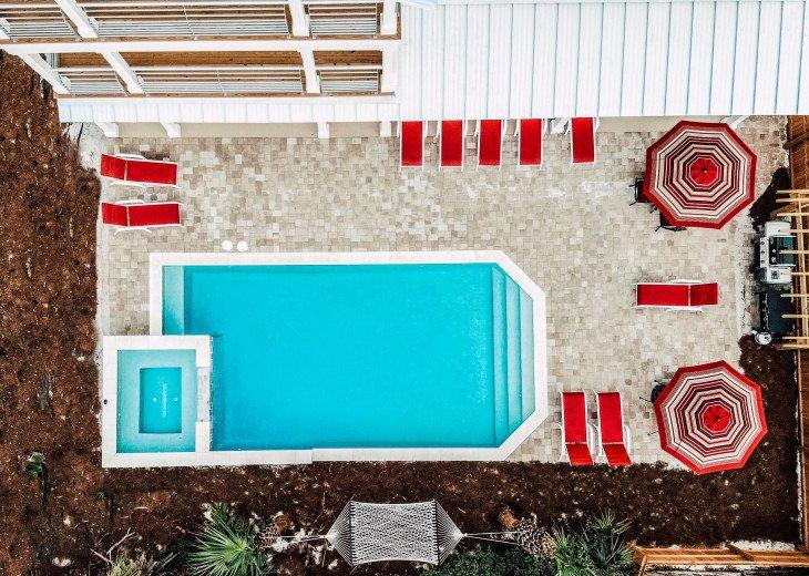 WOW! Brand New Coastal Charmer - Gulf Views! Large Priv Pool/Spa steps to beach #4