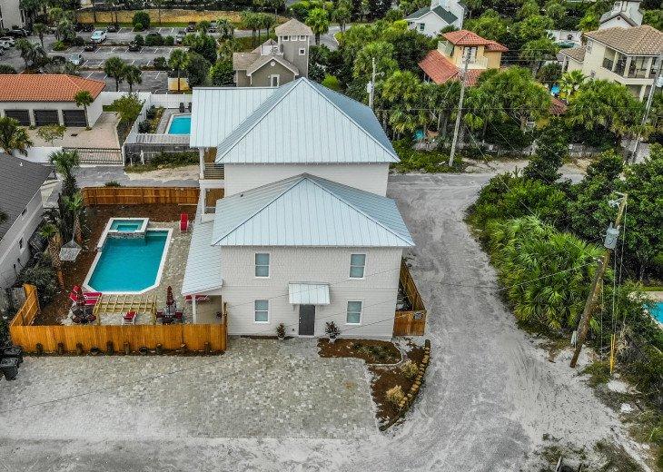 WOW! Brand New Coastal Charmer - Gulf Views! Large Priv Pool/Spa steps to beach #7