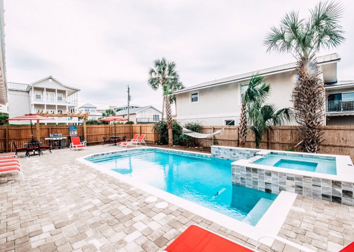 WOW! Brand New Coastal Charmer - Gulf Views! Large Priv Pool/Spa steps to beach #6