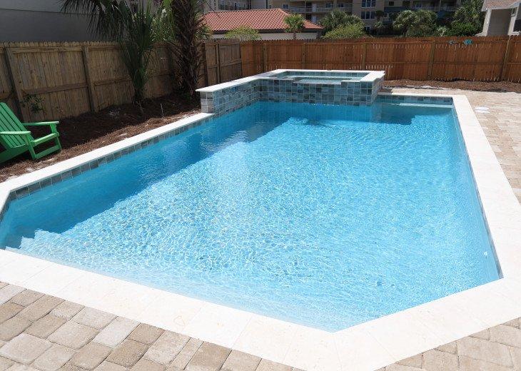 WOW! Brand New Coastal Charmer - Gulf Views! Large Priv Pool/Spa steps to beach #24