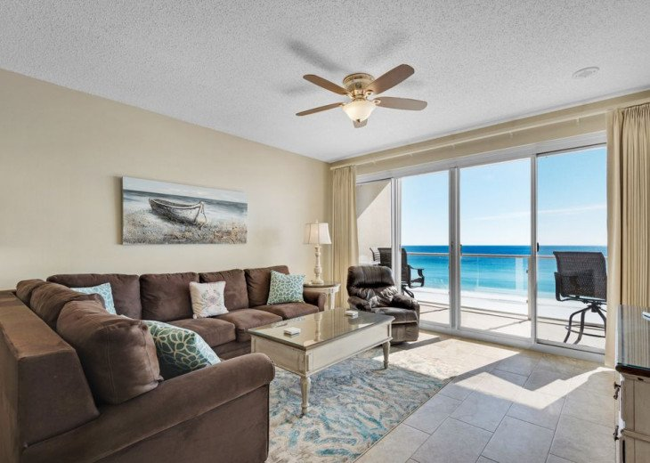 Large 2BDR Beach Front, Free Beach Service, covered parking #1