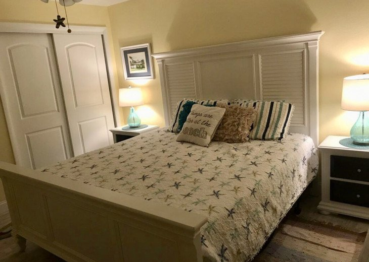 King sized comfort with new memory mattress