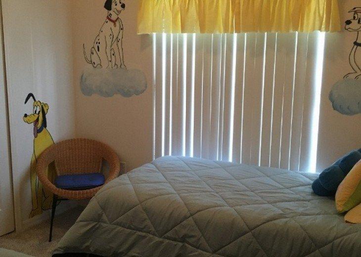 Dog twin bedroom