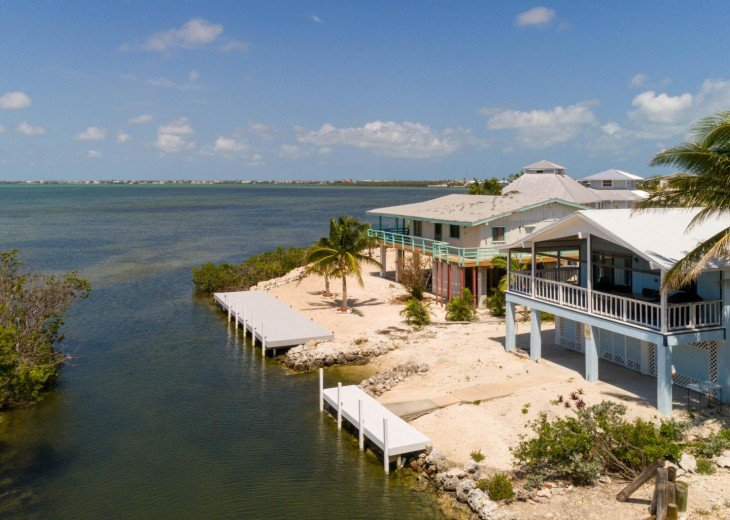 Ocean view home -Private launch & breath taking sunset views-28 day rentals only #56