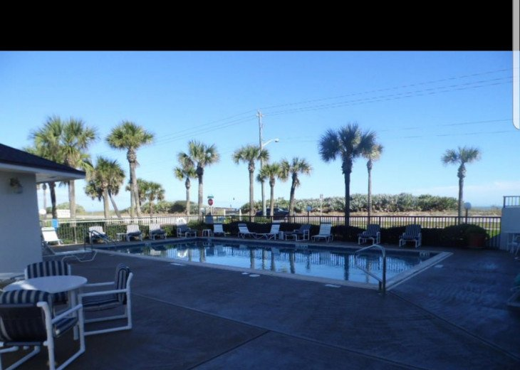 heated pool and club house