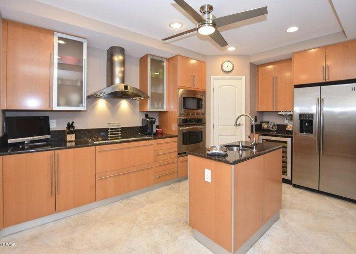 Kitchen showing Pantry door