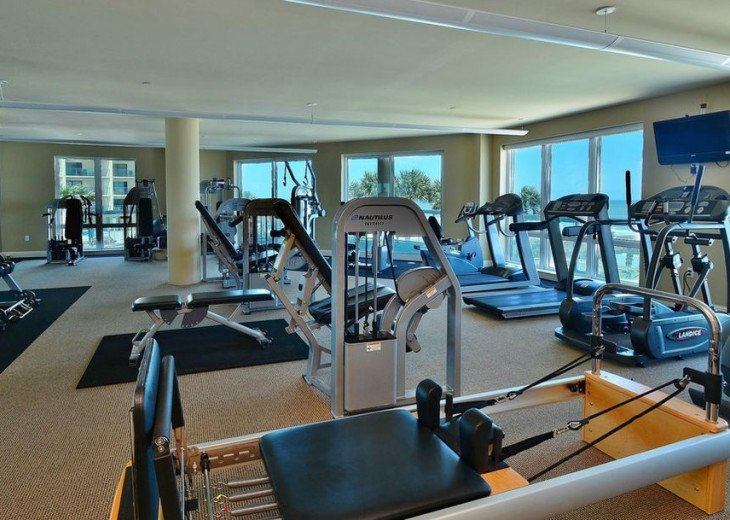 Fitness Center with sauna