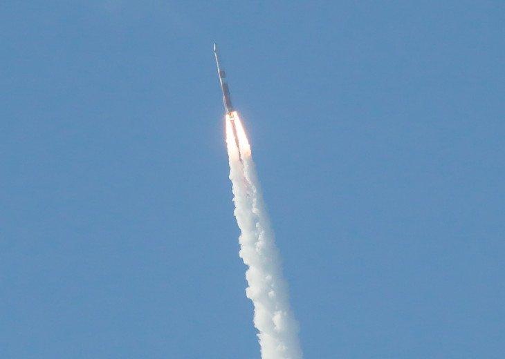 Rocket launches each month
