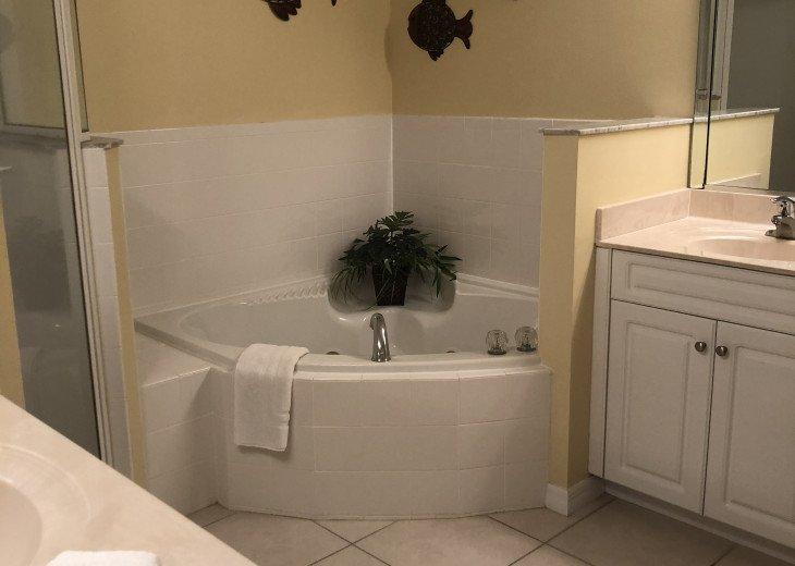 Shower and Garden tub Dual vanities