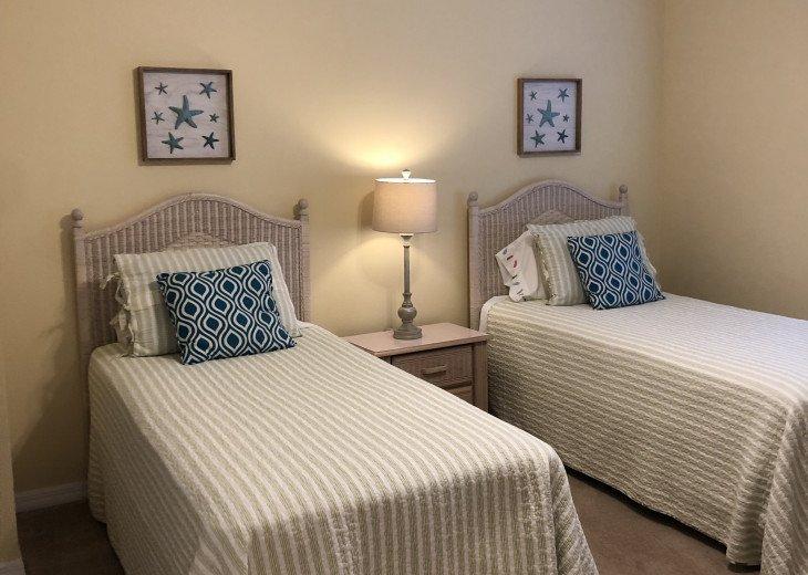 Cozy Twin Guest room