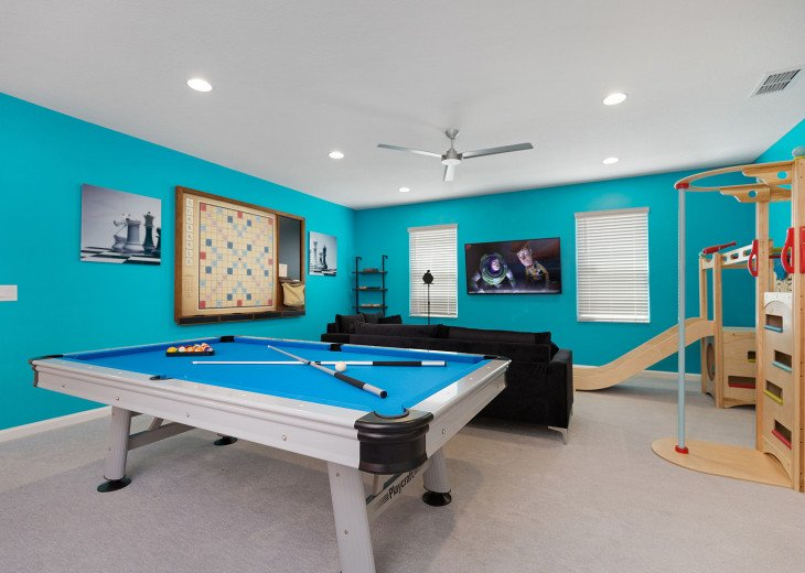 Glamorous Private Villa w Epic Collection of Fun & Games #45