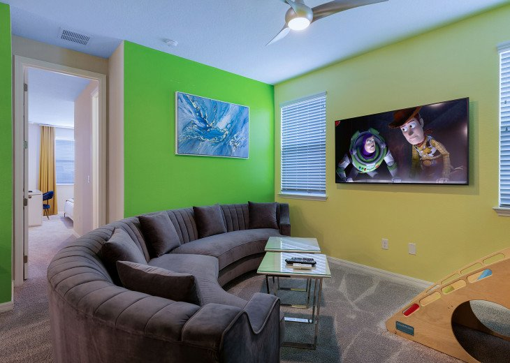 Stunning Design, Modern Comfort & Disney Entertainment 8 BR's Orlando Villa #7
