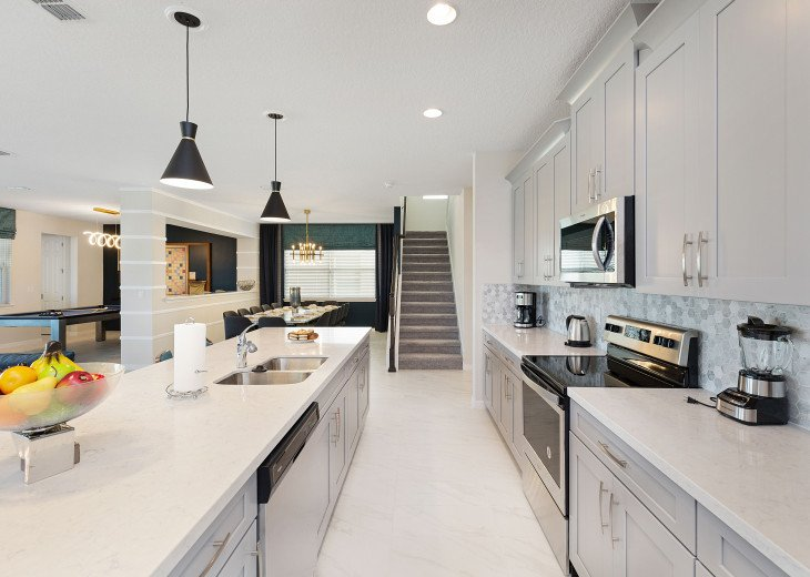 Stunning Design, Modern Comfort & Disney Entertainment 8 BR's Orlando Villa #25