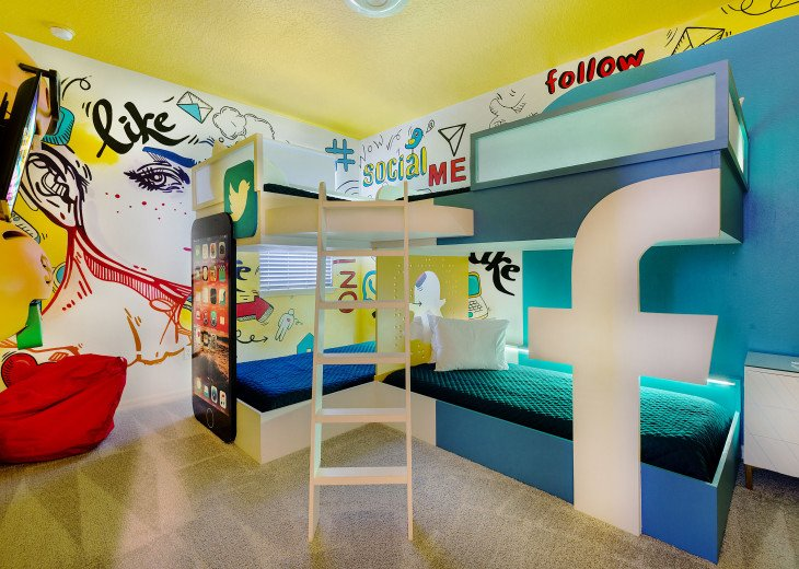 Stunning Design, Modern Comfort & Disney Entertainment 8 BR's Orlando Villa #36