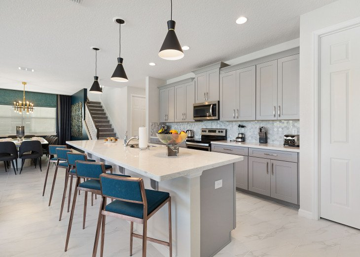 Stunning Design, Modern Comfort & Disney Entertainment 8 BR's Orlando Villa #35