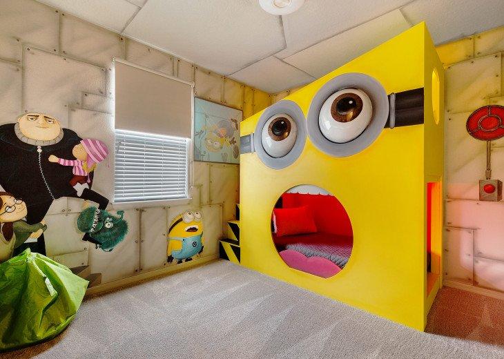 Stunning Design, Modern Comfort & Disney Entertainment 8 BR's Orlando Villa #4