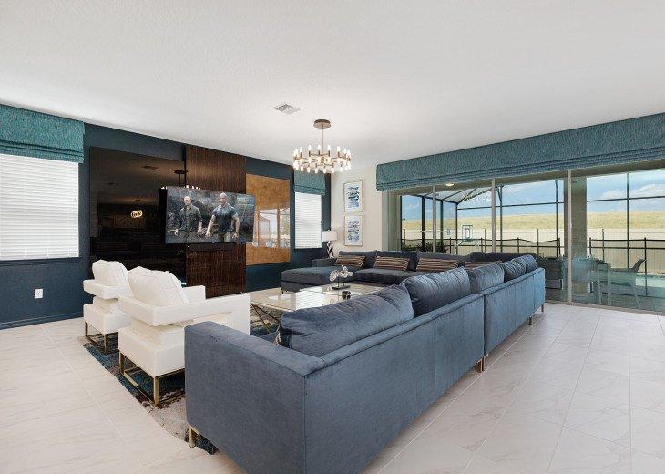 Stunning Design, Modern Comfort & Disney Entertainment 8 BR's Orlando Villa #32