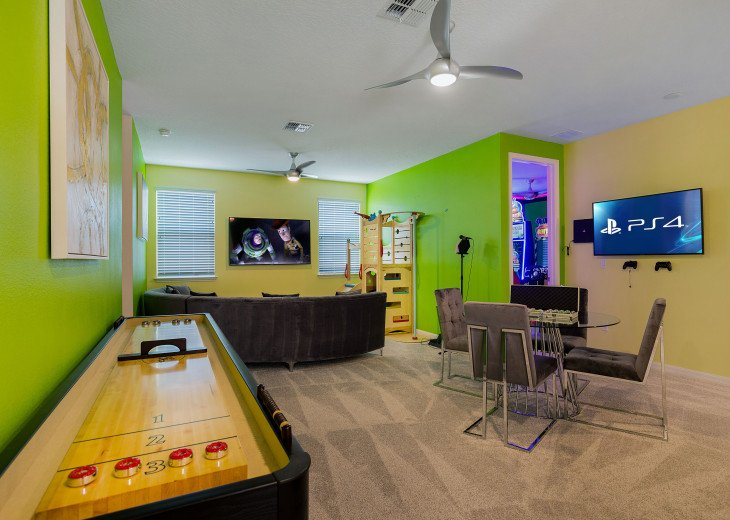 Stunning Design, Modern Comfort & Disney Entertainment 8 BR's Orlando Villa #6