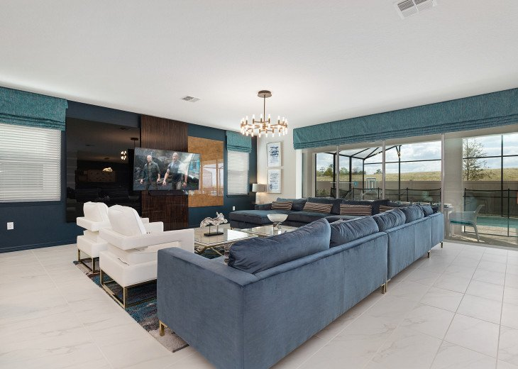 Chic & Modern Luxury w High Tech Arcade Rooms and Private Pool #24