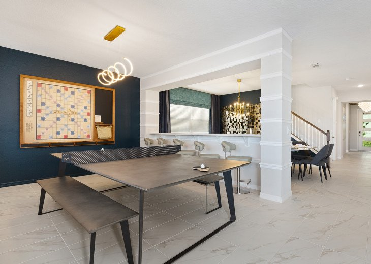 Chic & Modern Luxury w High Tech Arcade Rooms and Private Pool #26